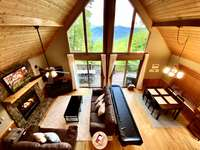 Open Light and Airy Great Room Floor Plan is very Welcoming thumb