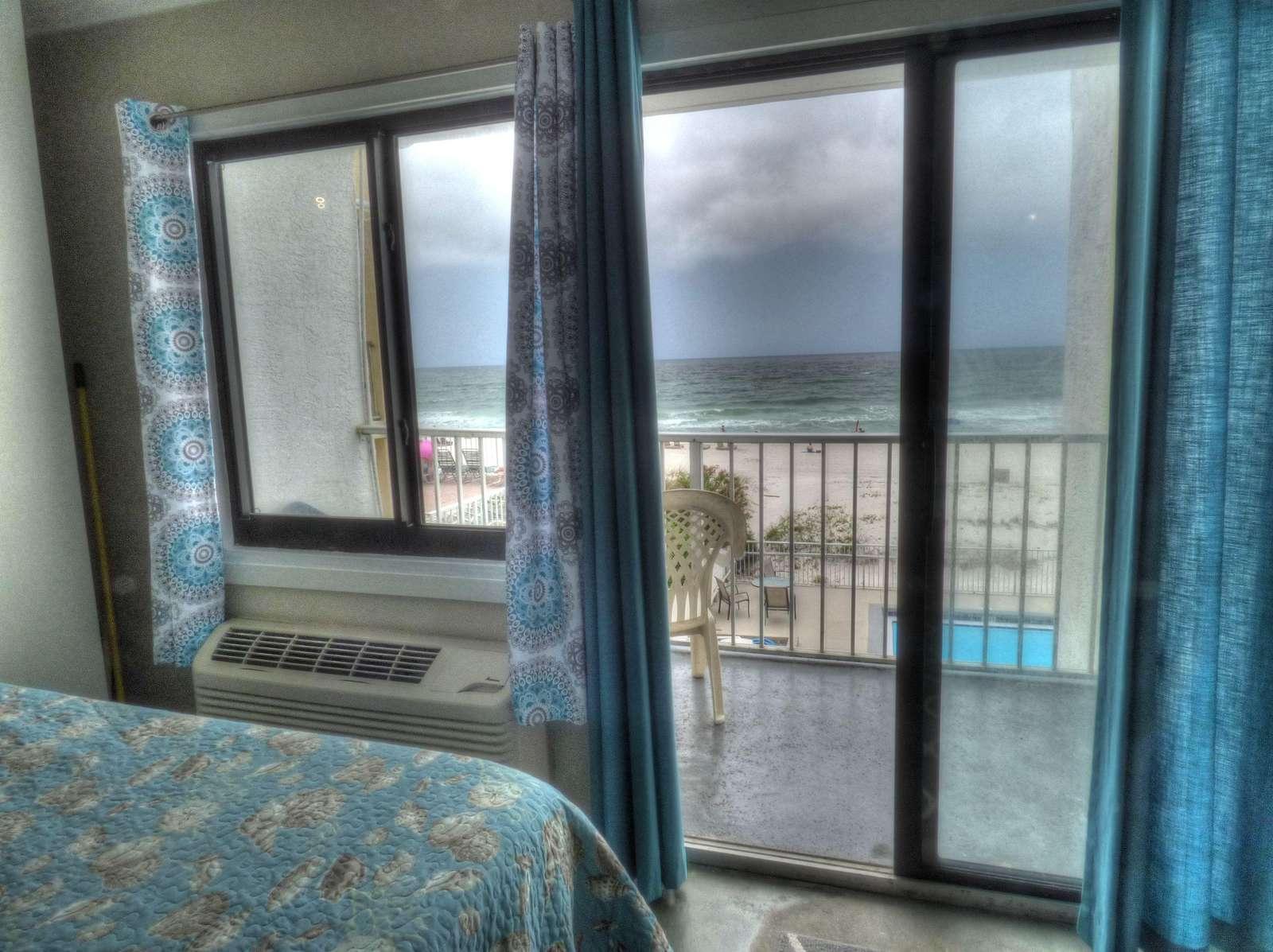 A/C and Beach Views