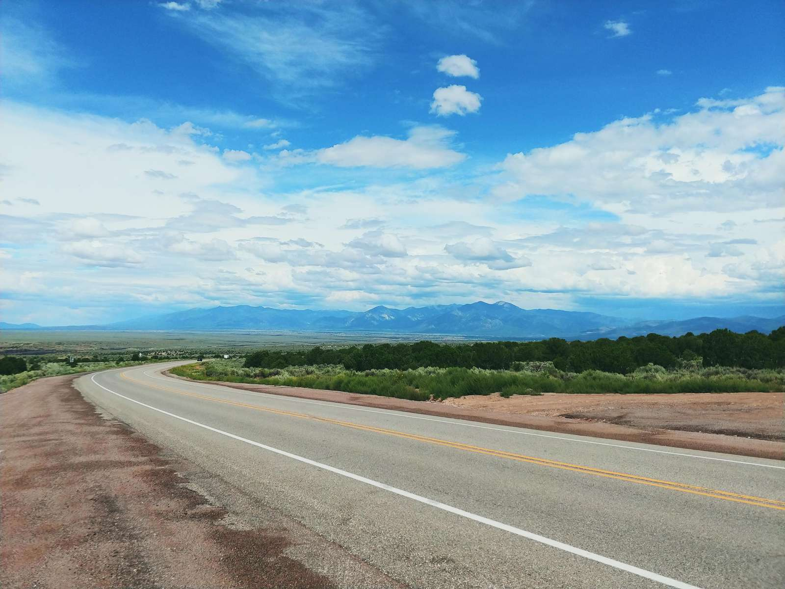 Driving up to Taos Ski Valley | Summer View