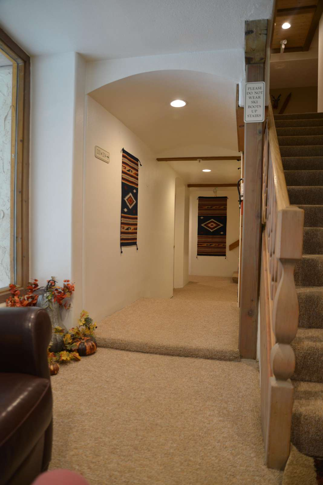 Hallway Lobby Area to condo #201