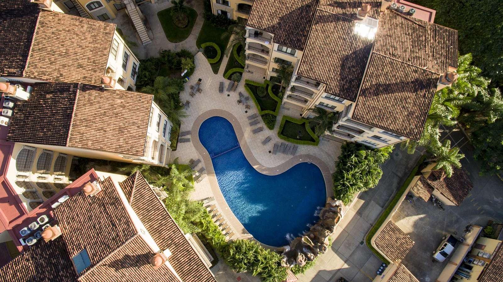 Aerial view of Sunrise resort