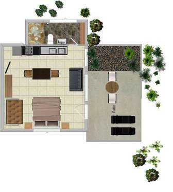 floor plan of COCO BUNGALOW thumb
