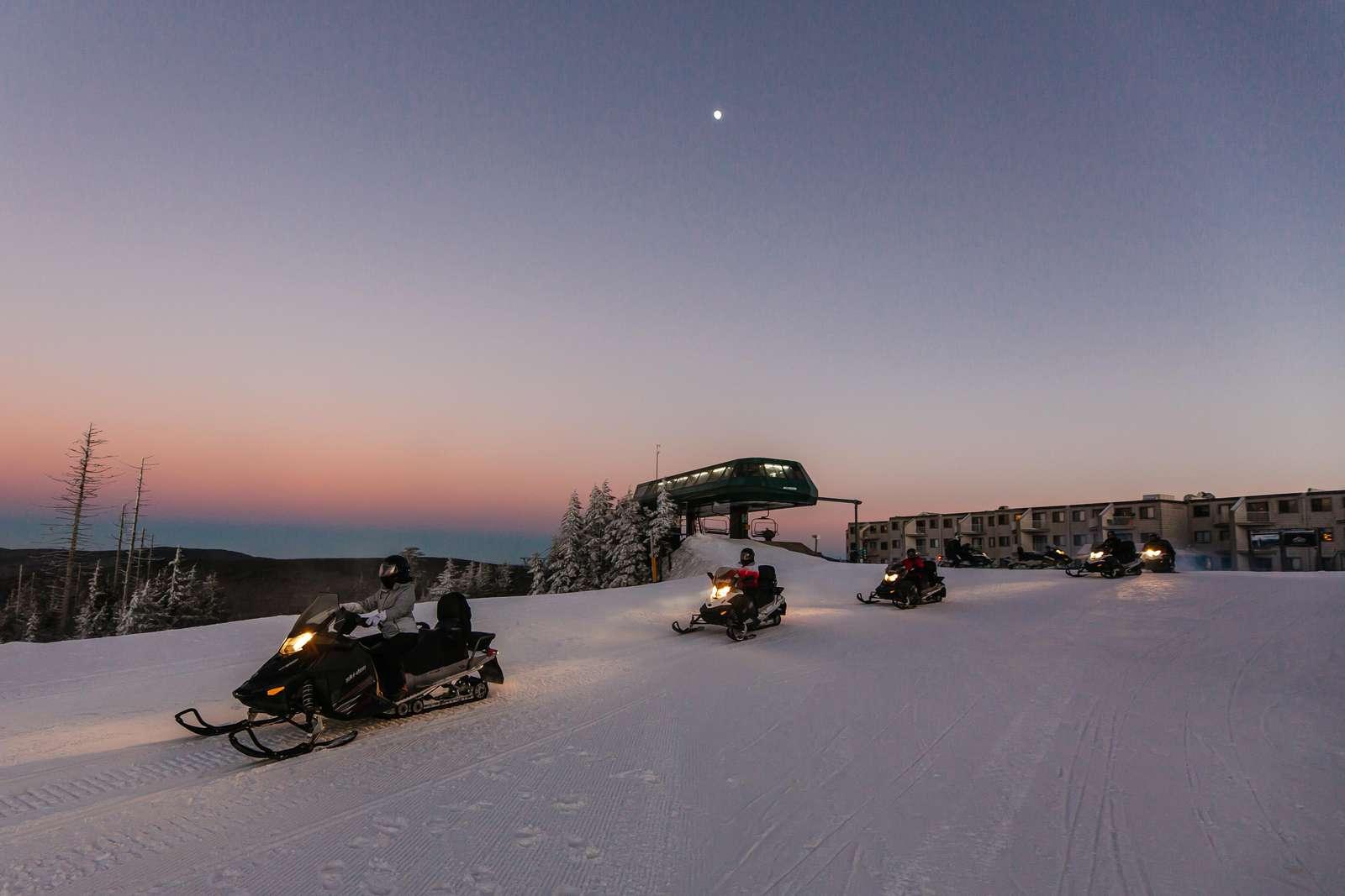 A fun winter paradise