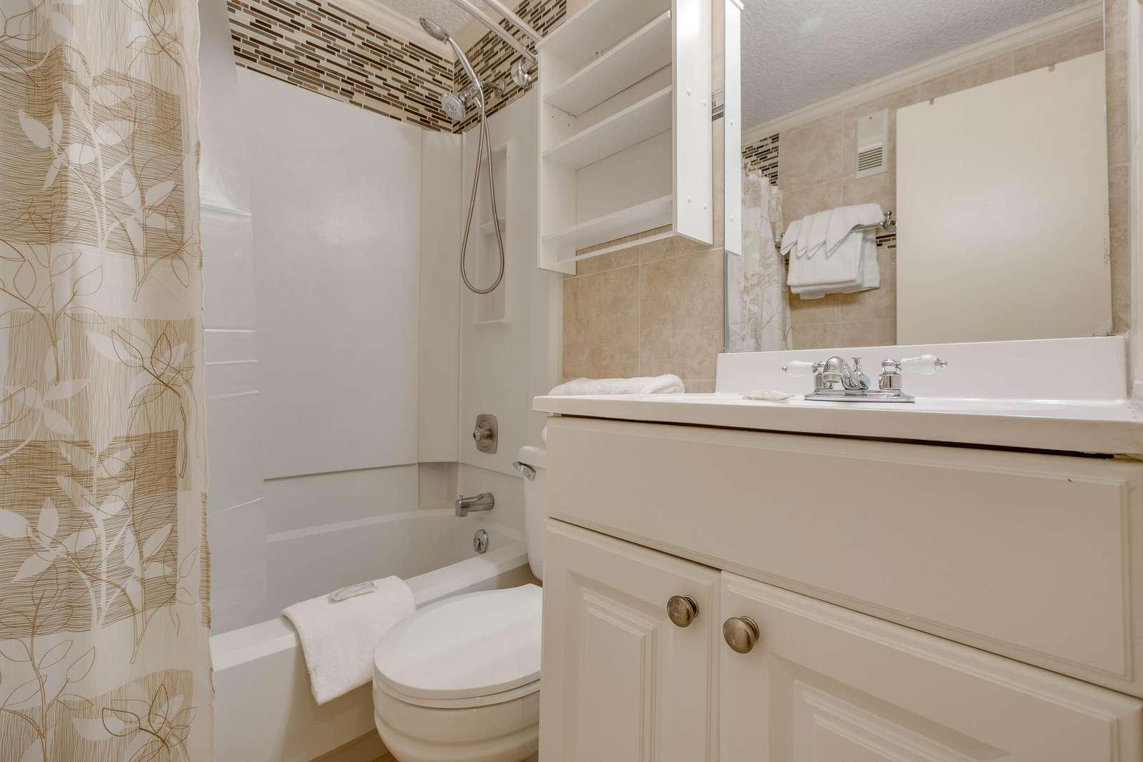 Spick and Span bathroom