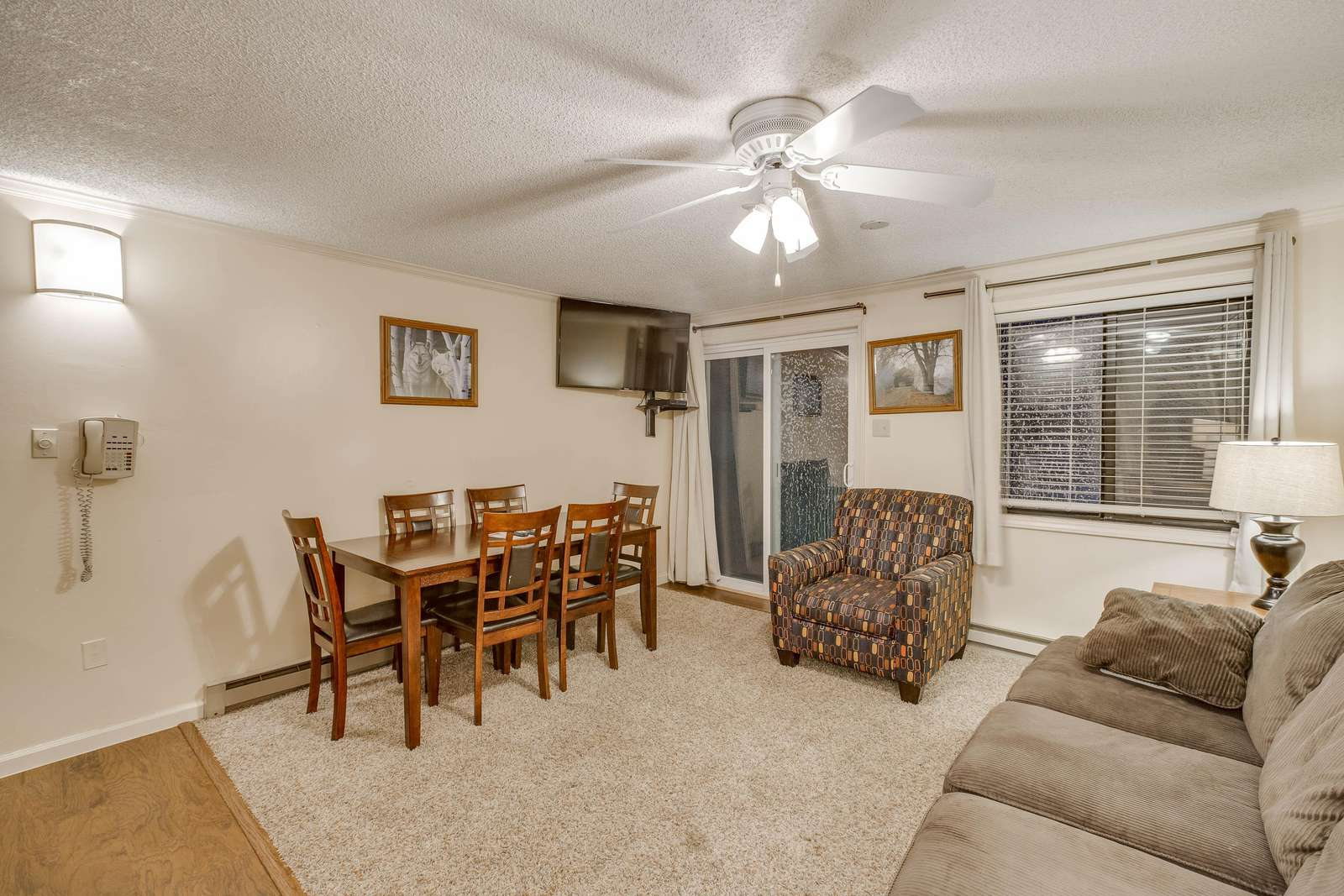 Dining and Living Area - property