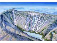 3D view of the mountain thumb