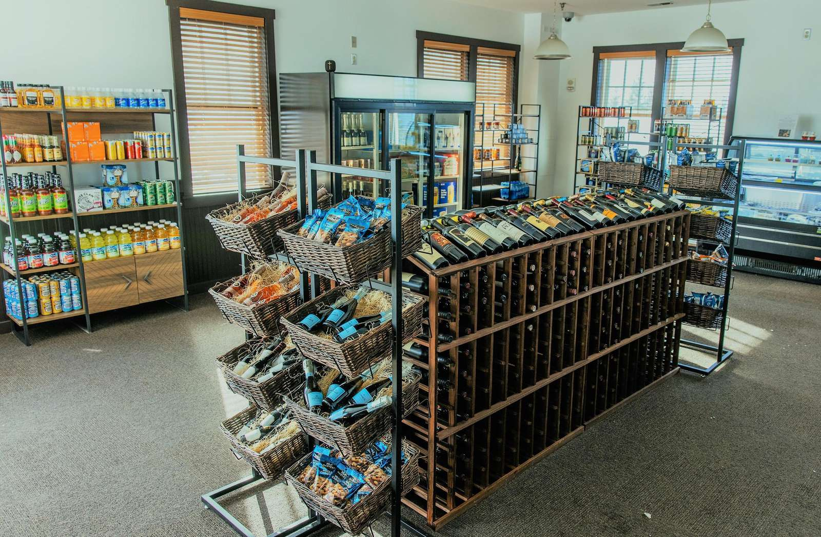 Wildcat Grocery - Snacks and Drinks readily available to appease your cravings and quench your thirst on the go, catering to your needs during your adventures at SnowShoe.