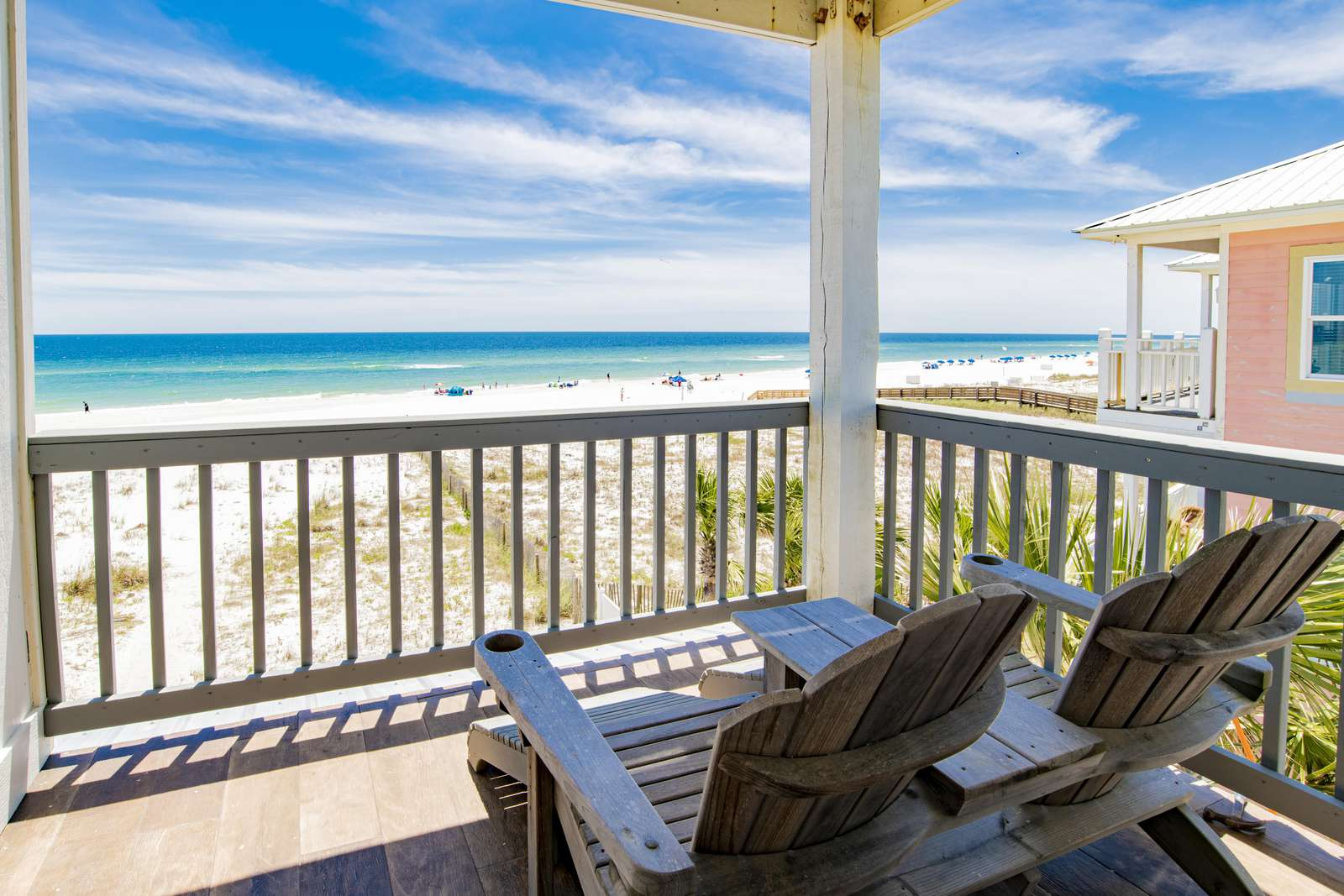private balcony off 1 of 4 gulf front masters