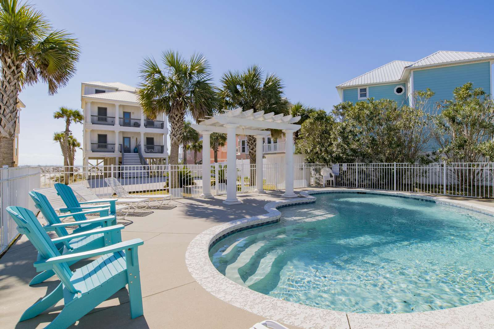Private Pool only for this house only. (Romar House at Beachside -23306 Perdido Beach Blvd Orange Beach AL)