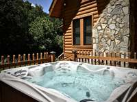 Sparkling Hot Tub awaits... thumb