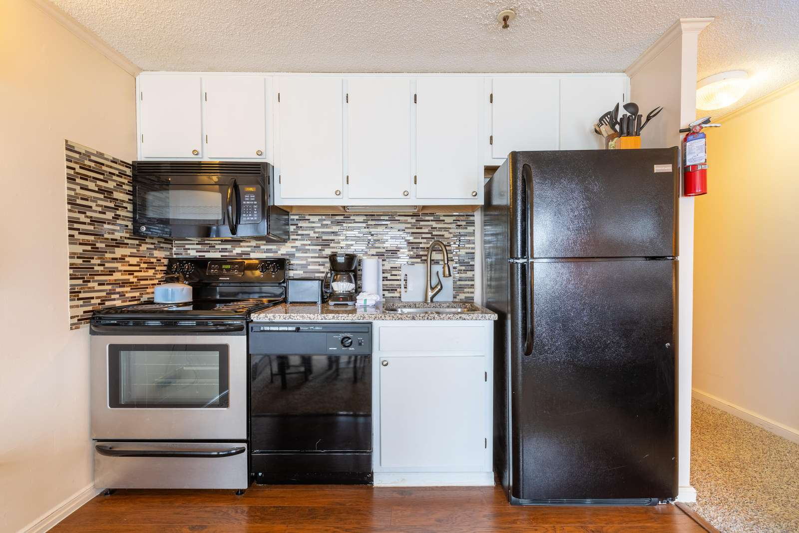 Updated Kitchen and Equipment to prepare your meals