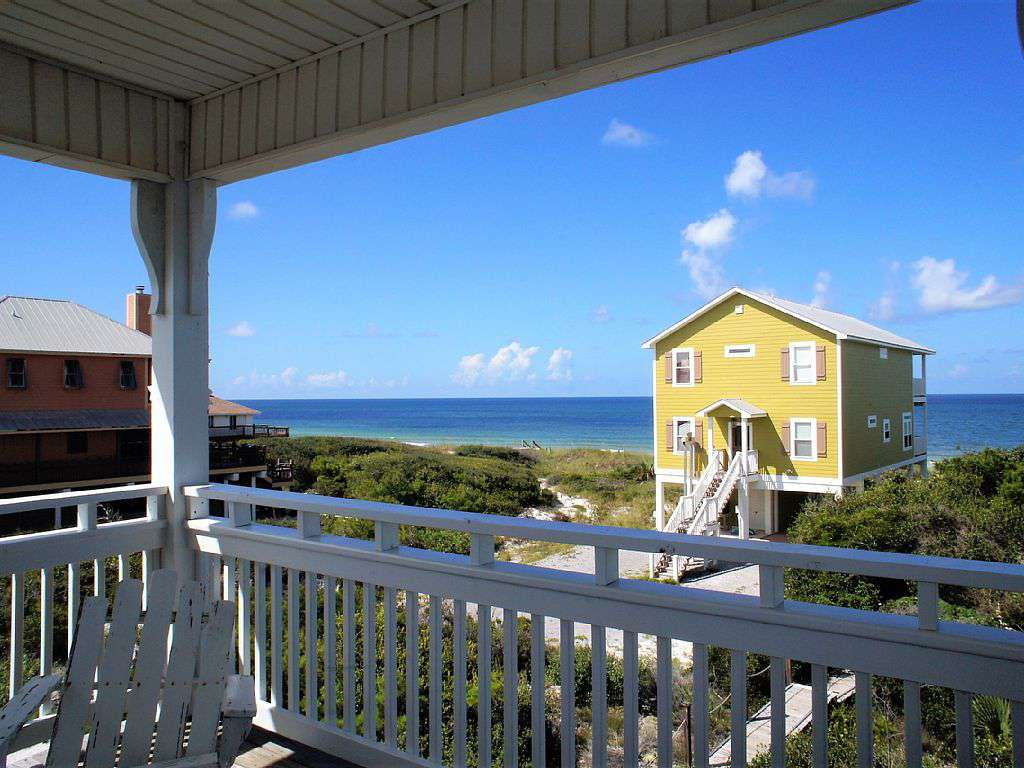 Gorgeous views of the clear blue waters of the Gulf.  - property