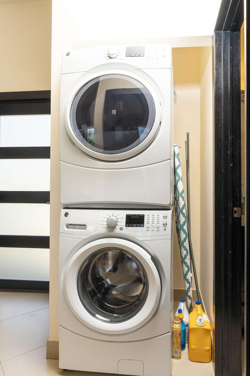 GE Front loading washer & dryer