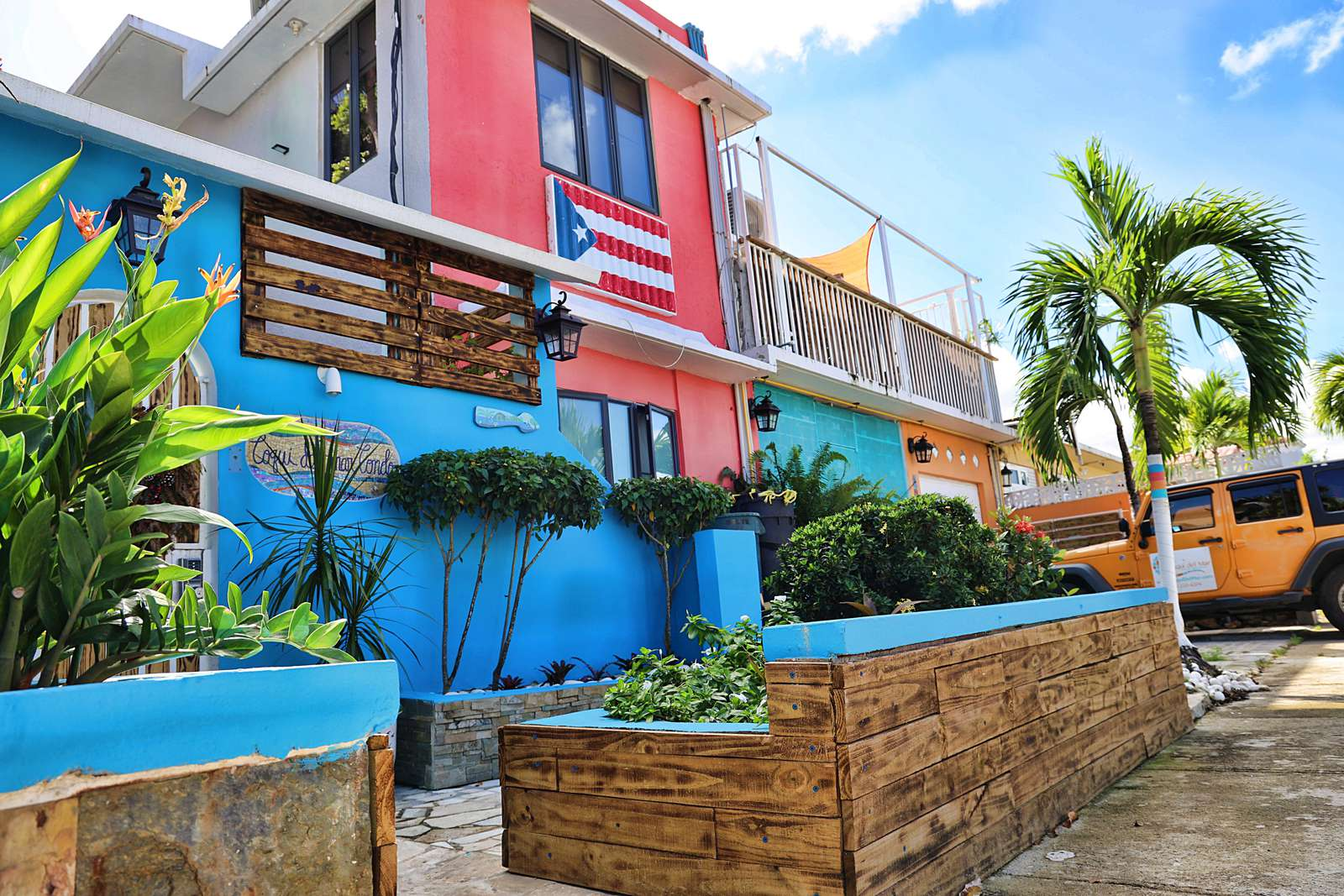 The gayest guest house in the Caribbean...We are gay owned, LGBTQ+ friendly, and all are welcome - property