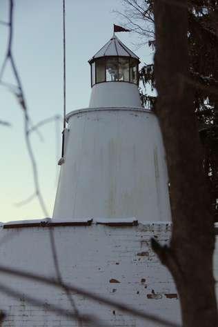 Light above Boat House