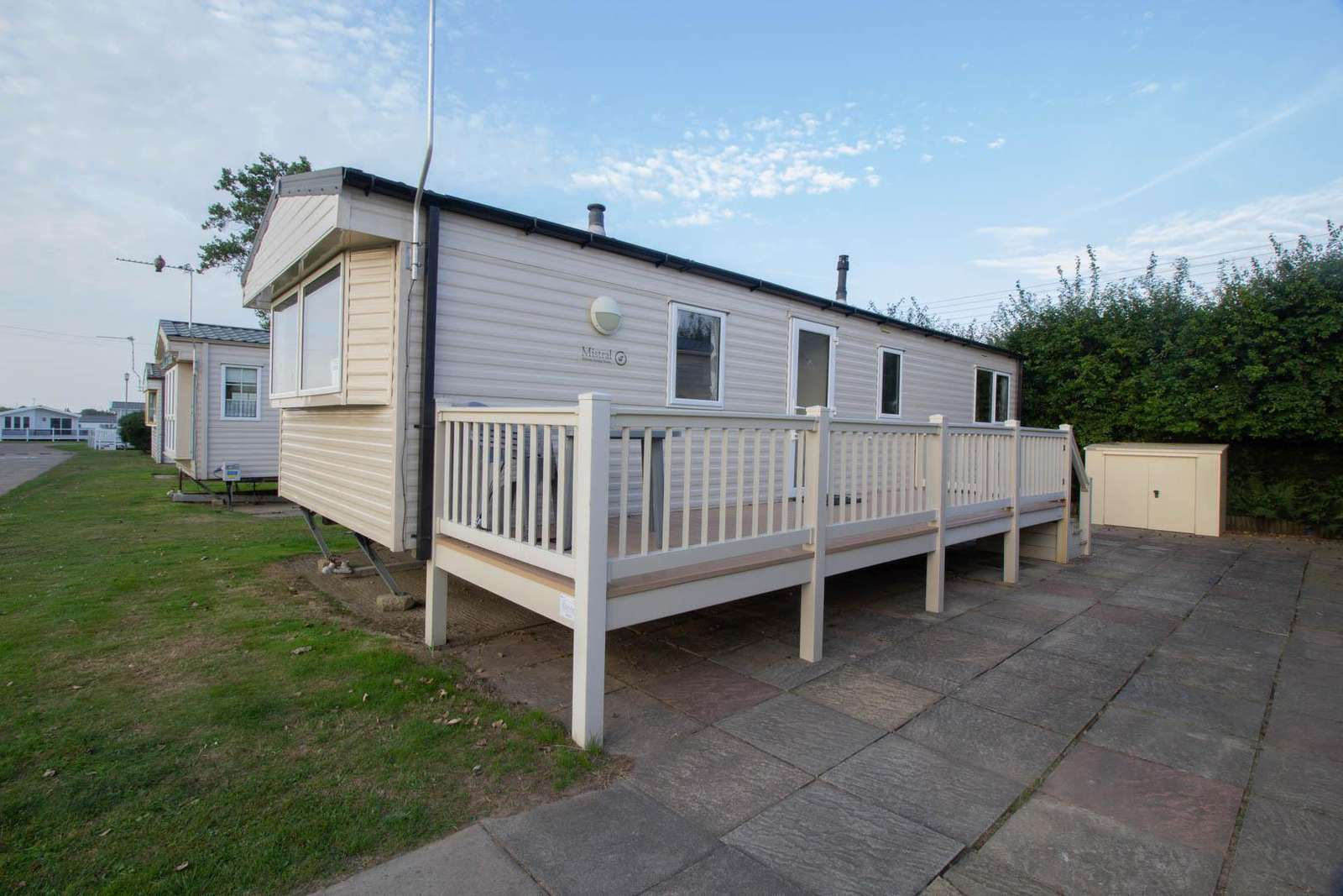 50008M – Magpie area, 2 bed, 6 berth caravan with D/G and C/H. Diamond Rated. - property