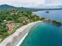 Aerial view of Flamingo beach thumb