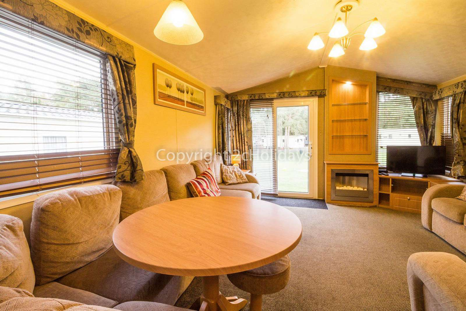 Don't forget to download your loyalty card after staying in this lodge for hire.