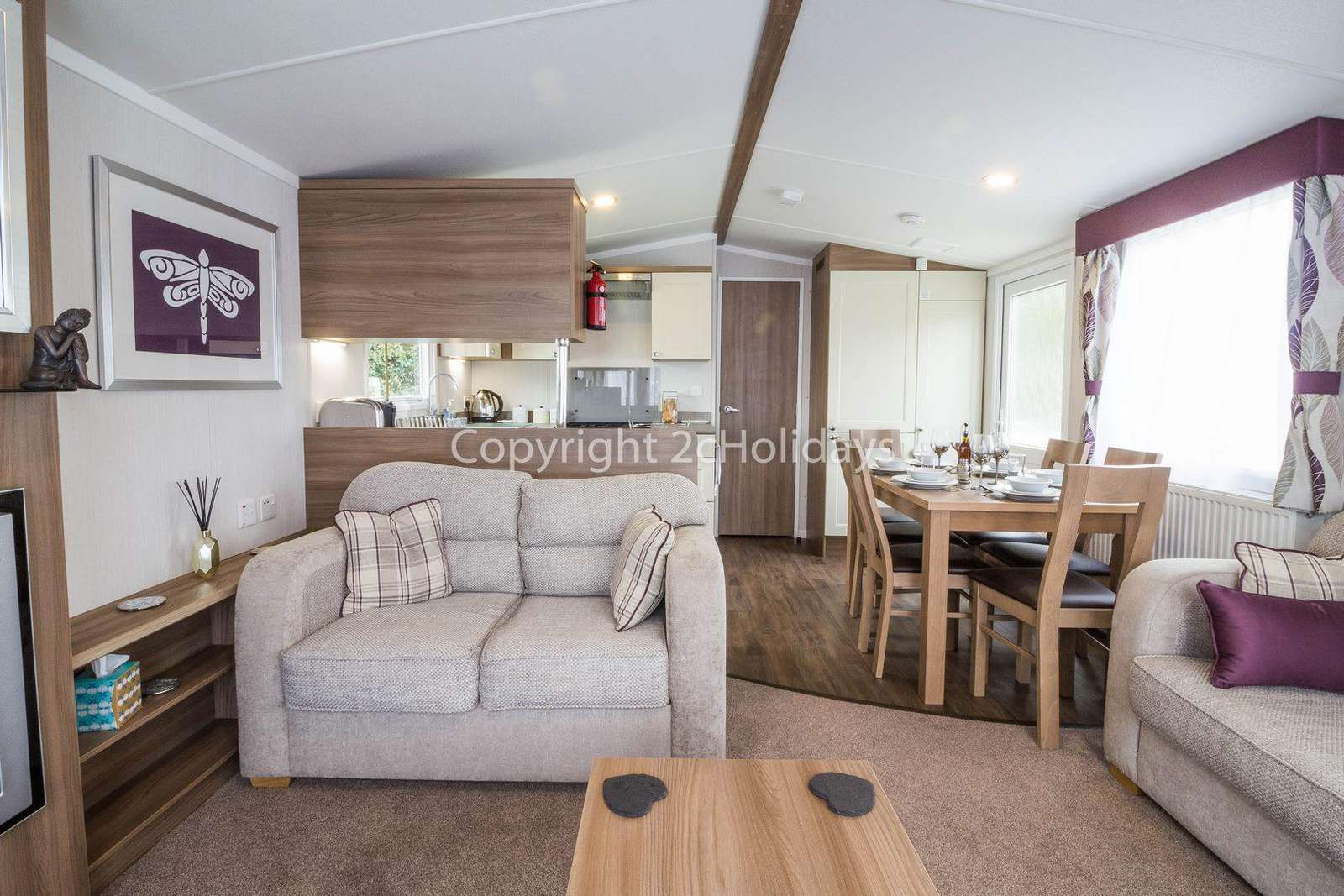 Hopton Holiday Village, in Norfolk