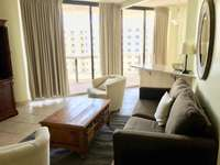 Each room has sliding doors which open to the large balcony! thumb