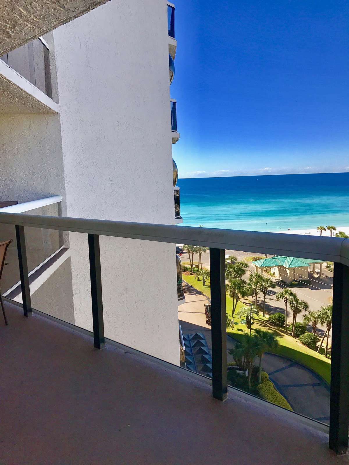 Enjoy the view from this balcony which runs the length of the condo! - property