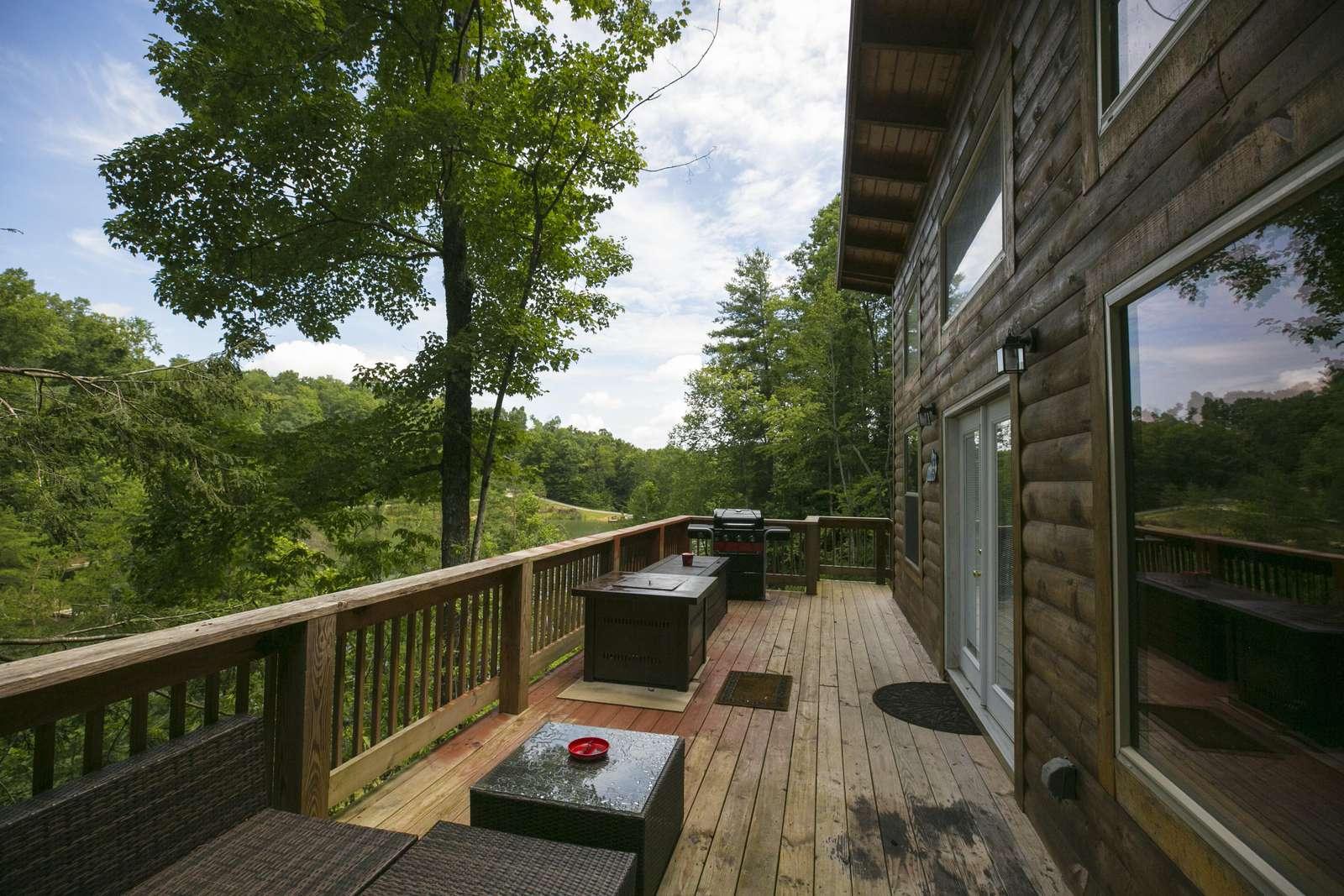 Deck at Forestdale