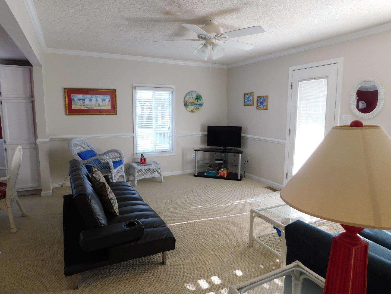 Family room Sleeper sofa shown