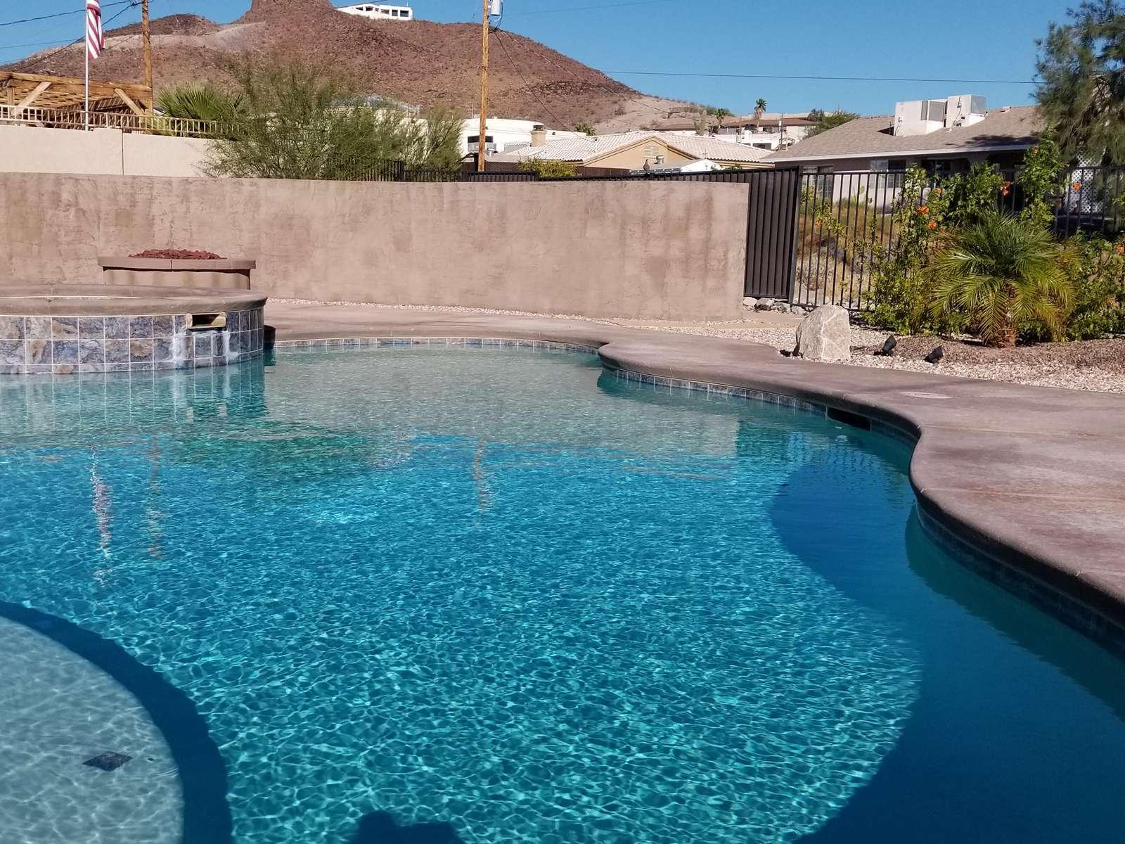 Lovely Gunite Heated pool and Spa