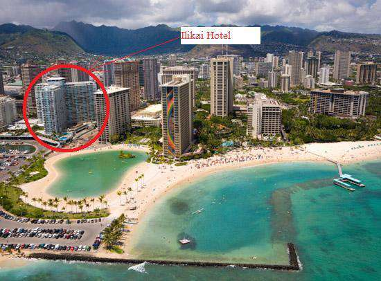 Ilikai Hotel is steps from the Hilton Lagoon, and seconds from the ocean