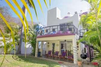 Enjoy the upstairs terrace or main level patio area thumb