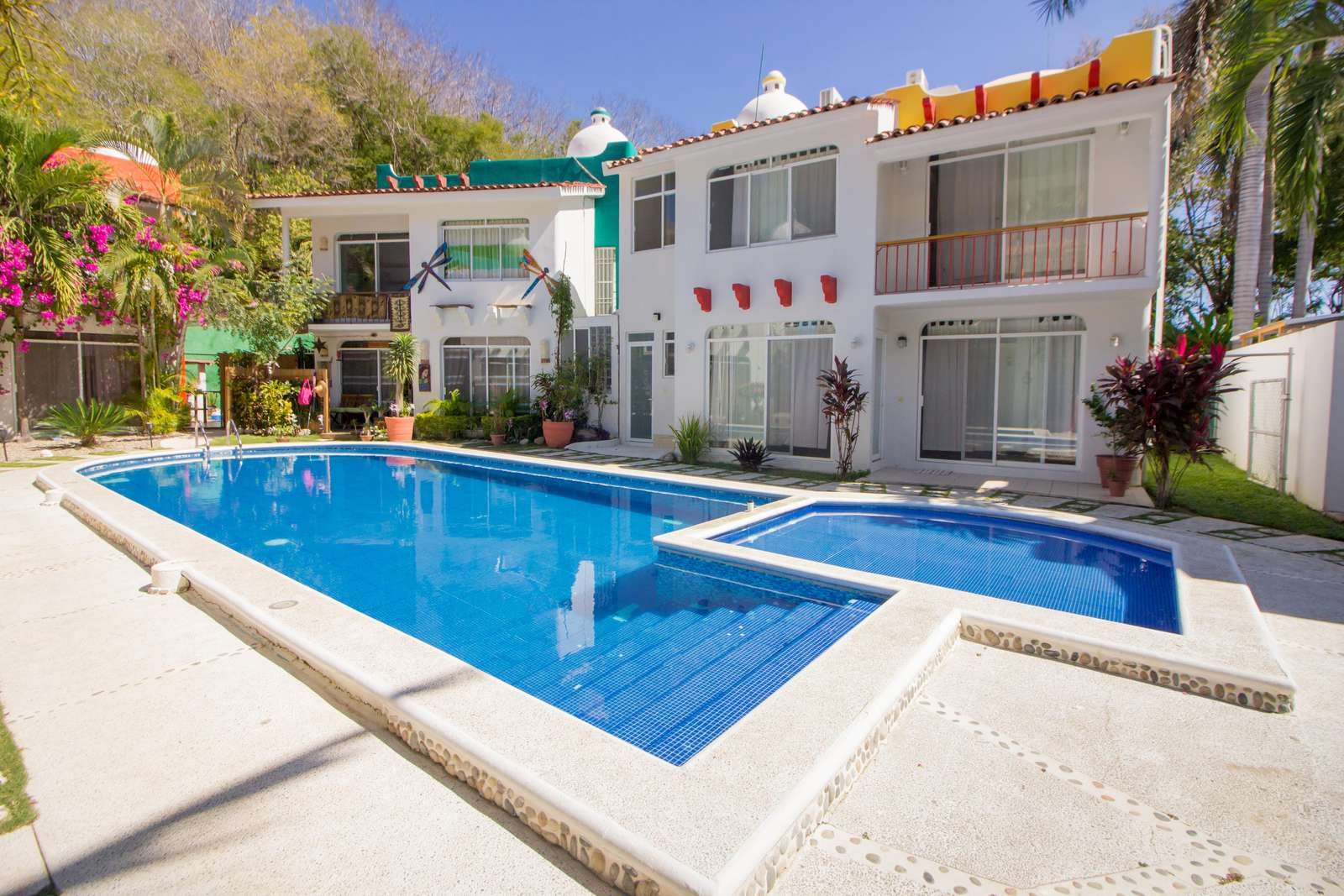 Shared pool in quiet gated community - property