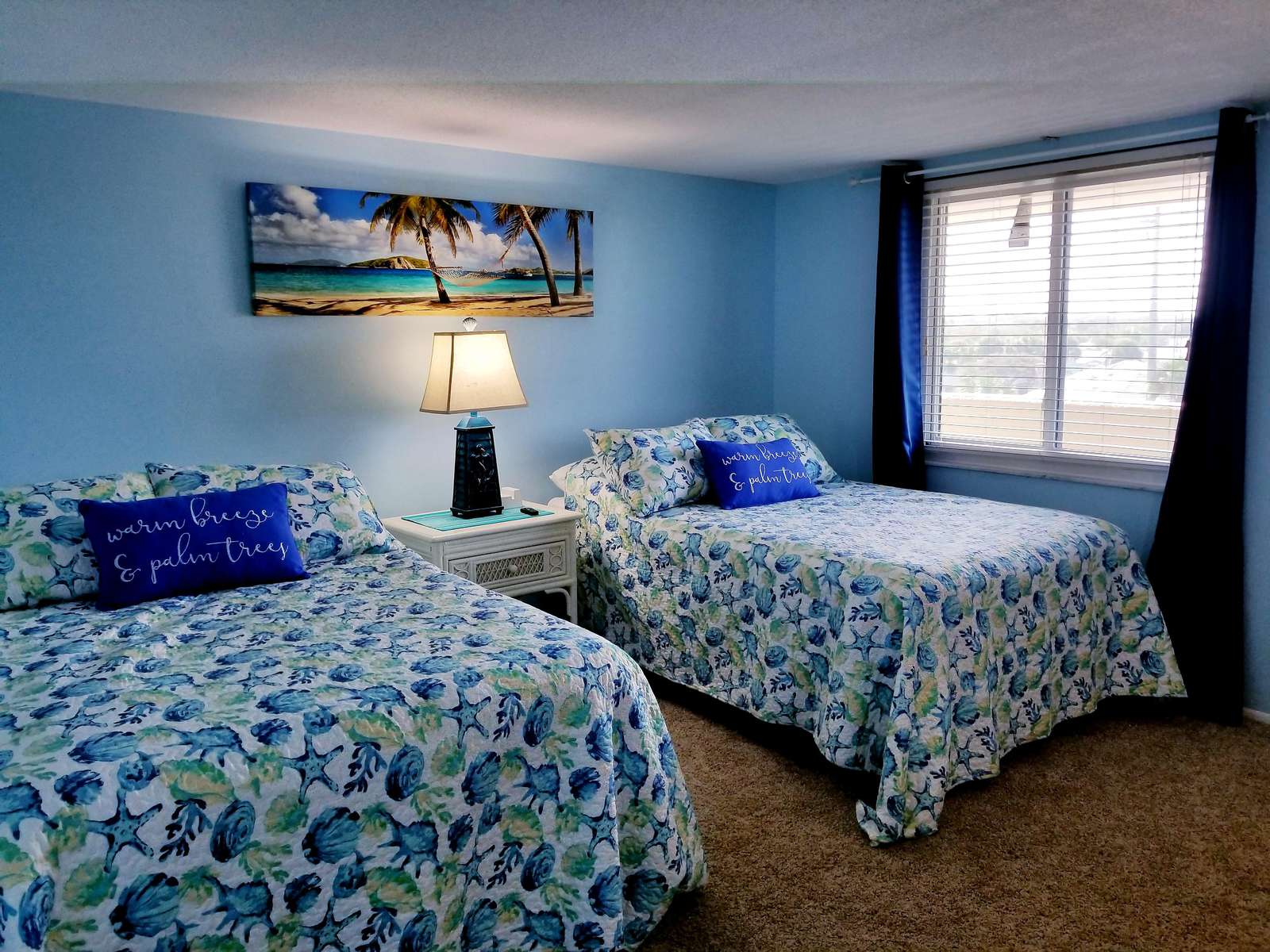 GUEST ROOM WITH DBL BEDS