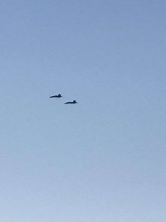 WATCH THE BLUE ANGELS FROM YOUR BALCONY