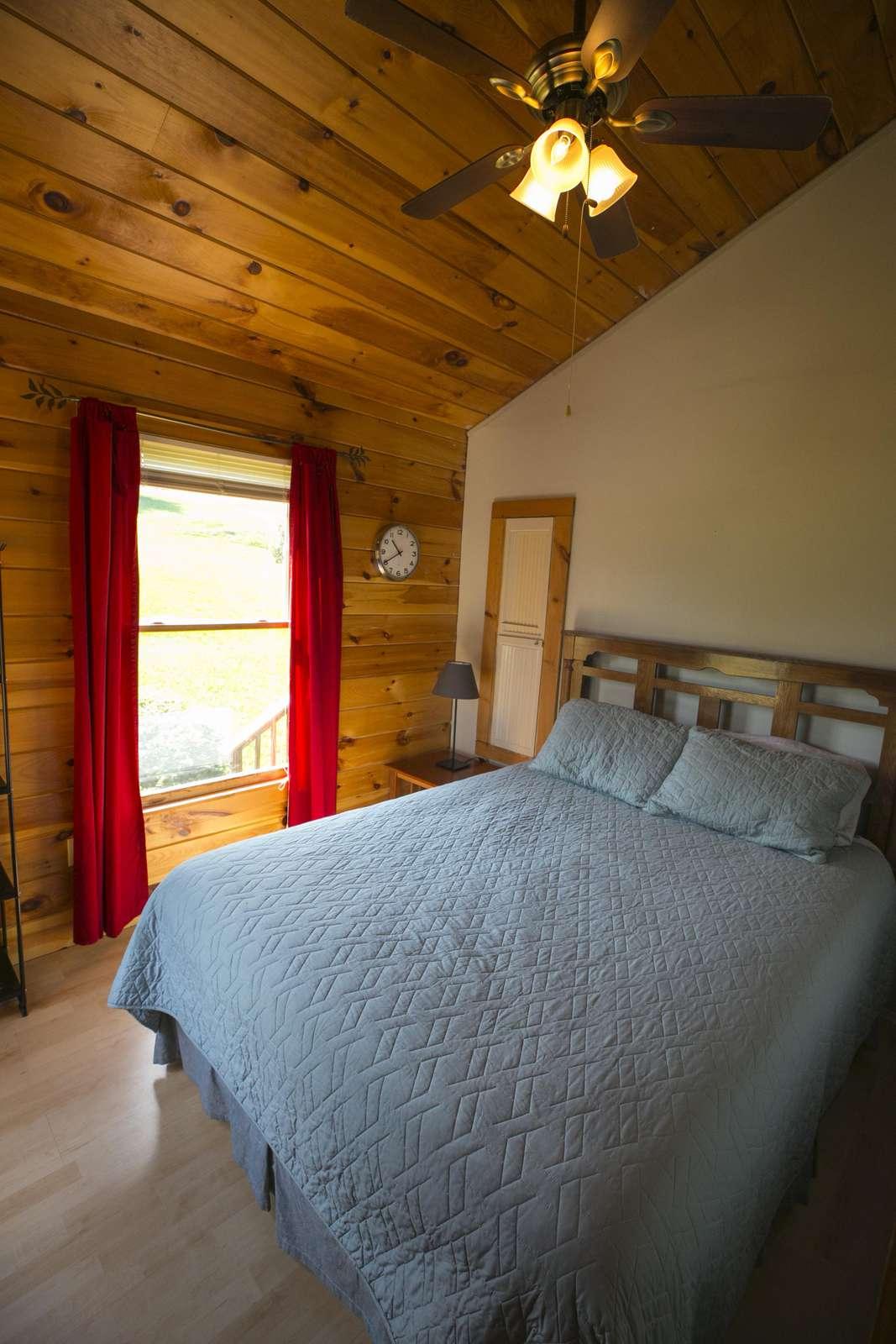 first floor bedroom #2 (Queen bed)