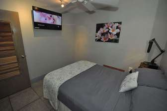 Bedroom #3 with full bed. thumb