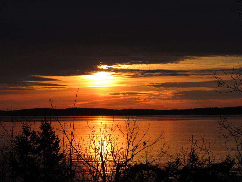 Good Morning! Sunrise at Lookout Point - property