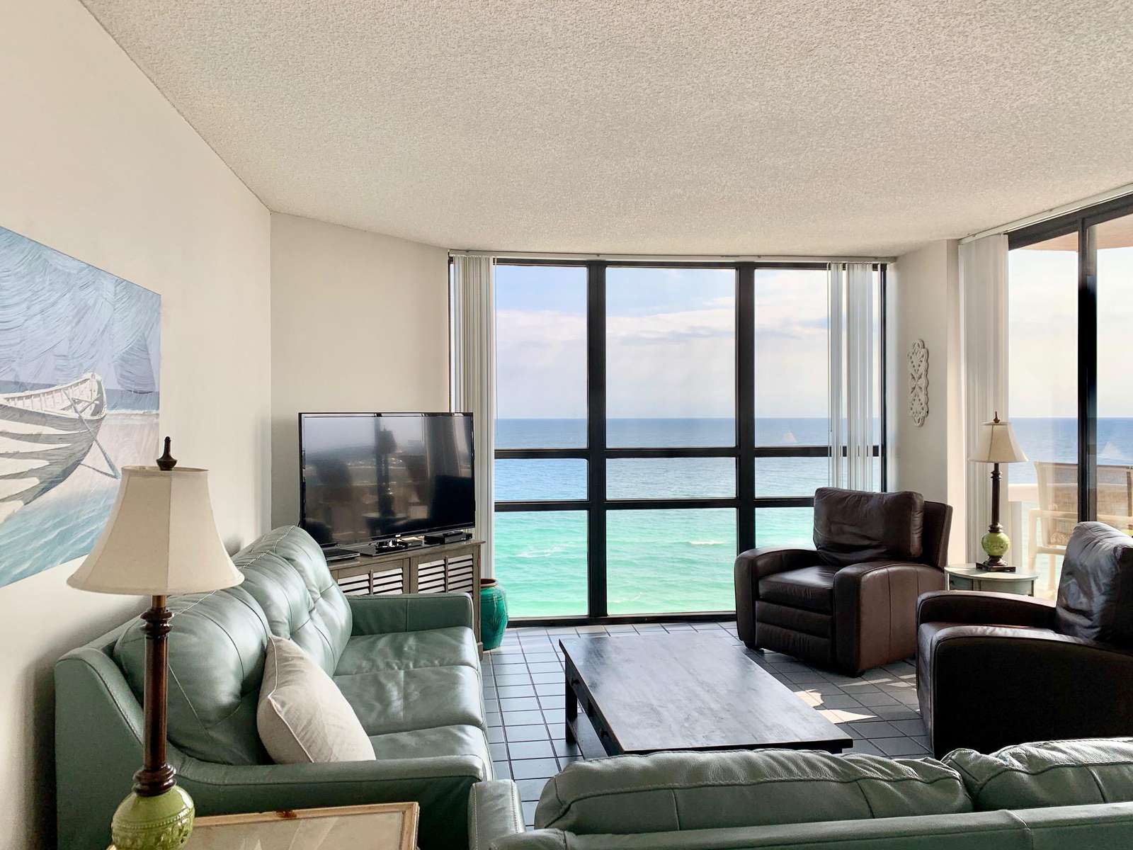 Watch the dolphins from your living room windows! - property
