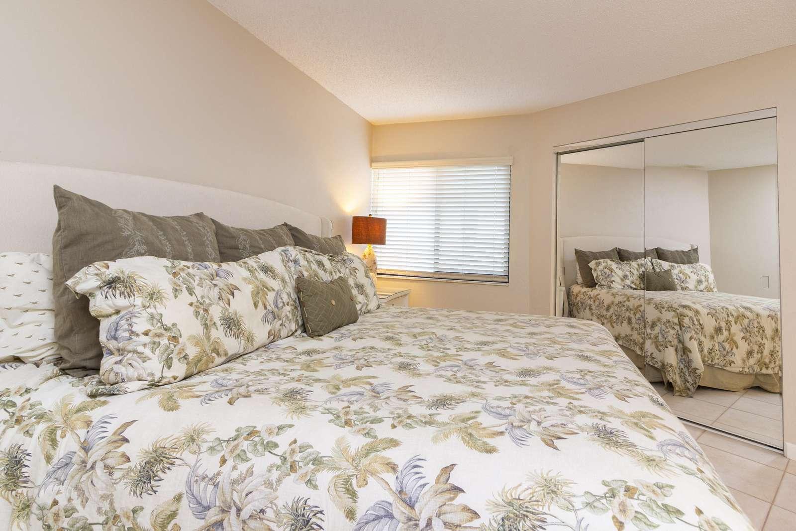 Guest Bedroom with Ocean Views!