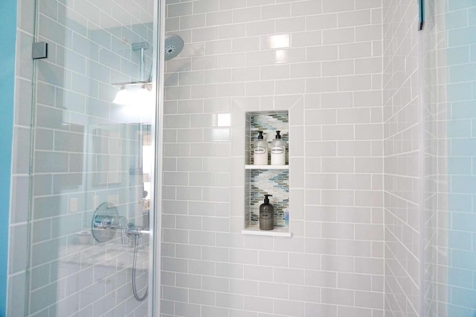 Bathroom in main bedroom