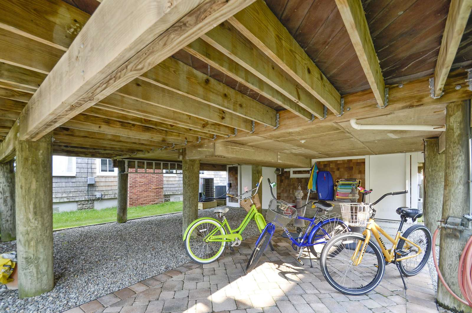 Lower Level Carport Area