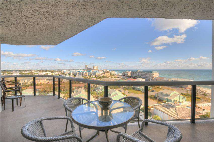 The fabulous view from this balcony will keep you coming back! - property