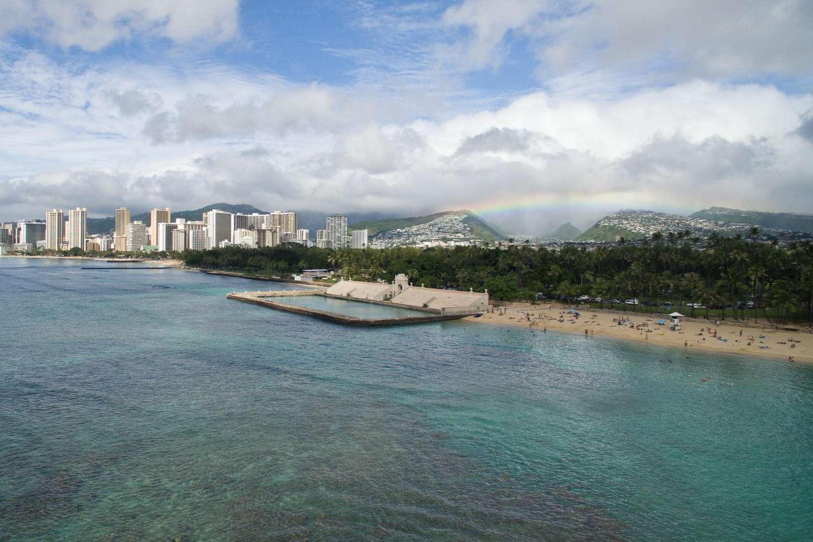 When can you get here to enjoy Waikiki?