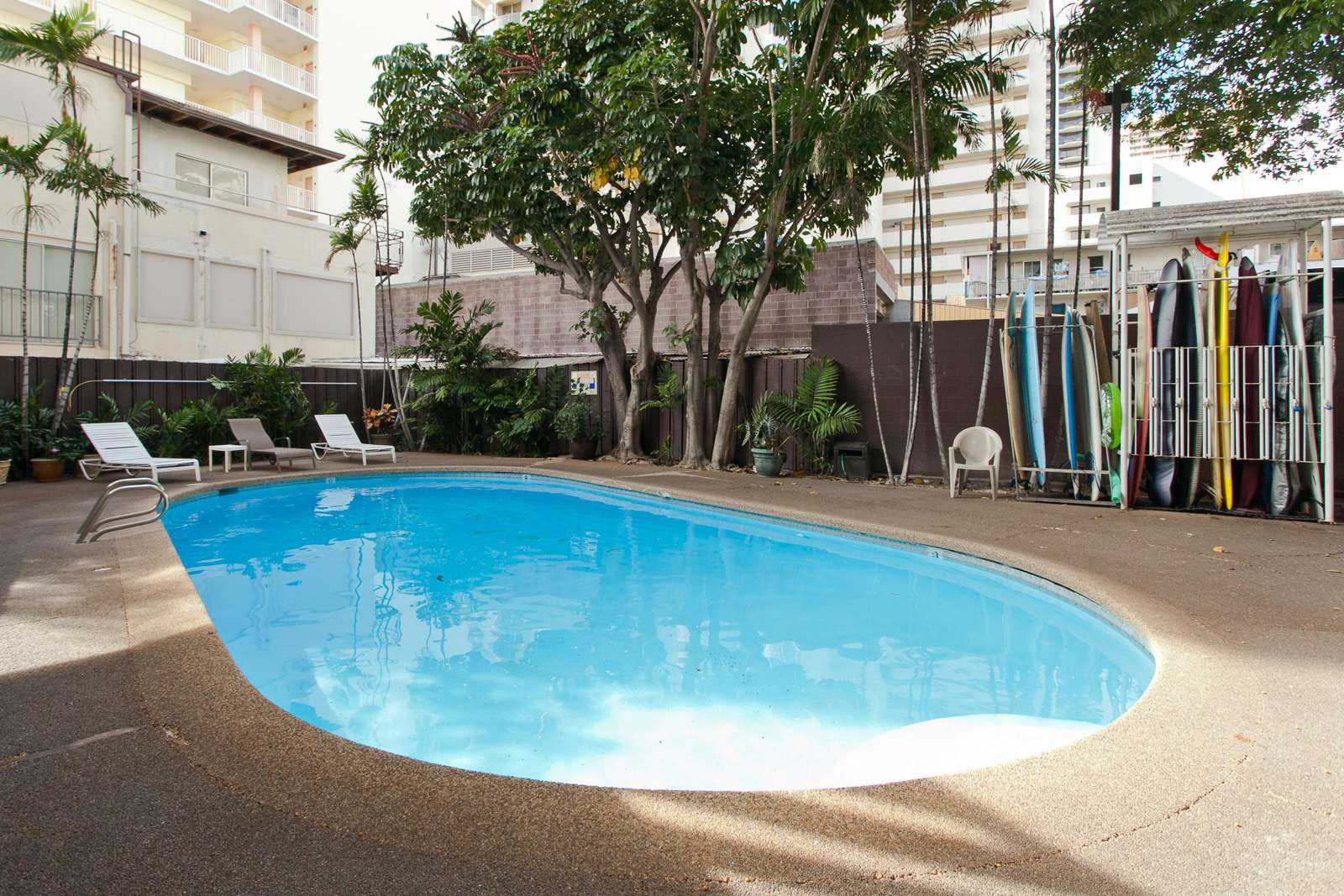 Improved pool area if you fancy a dip
