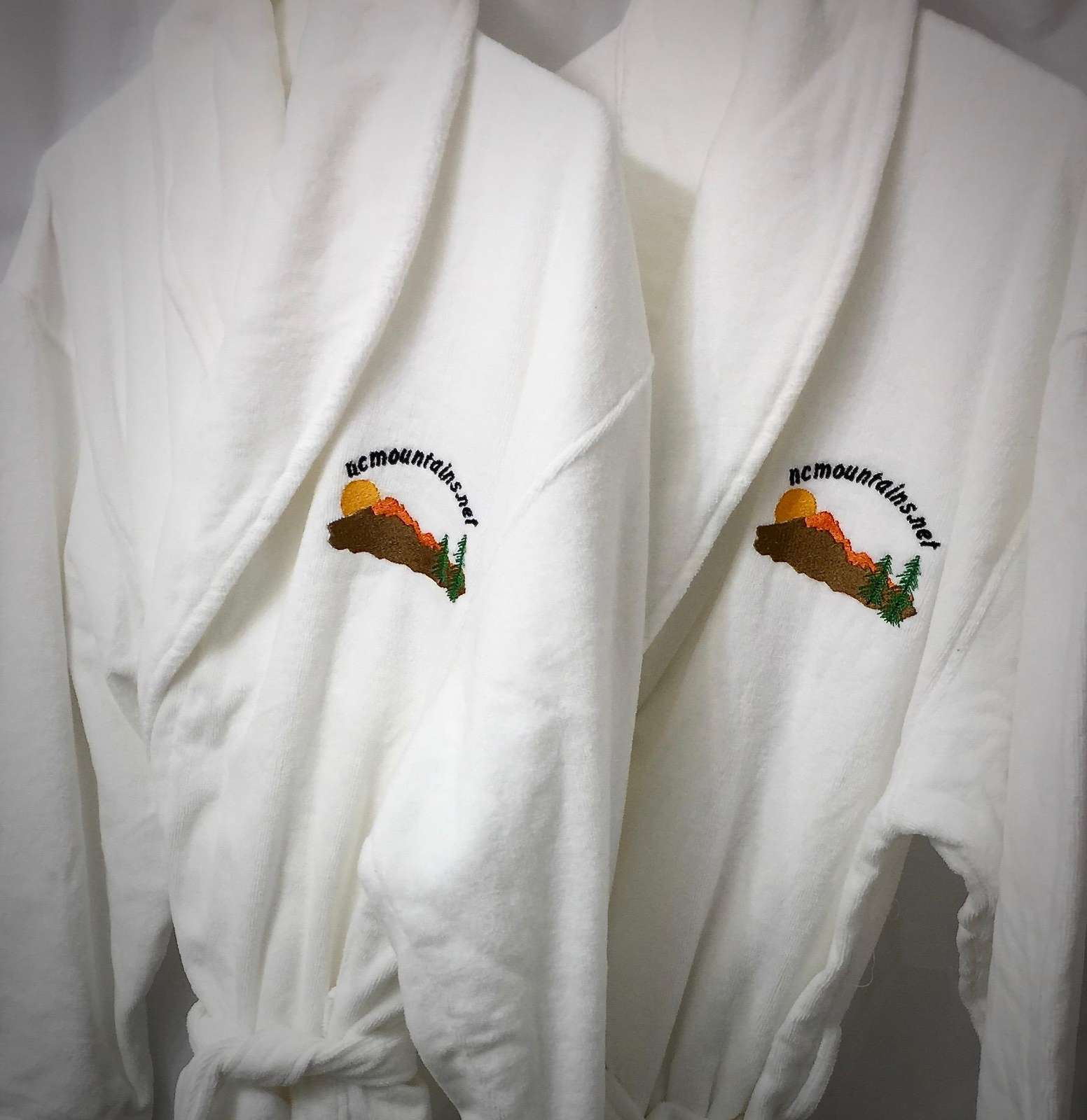 Two Plush Bathrobes are Perfect after a relaxing soak in the Hot Tub! Your relaxation and enjoyment is our priority...