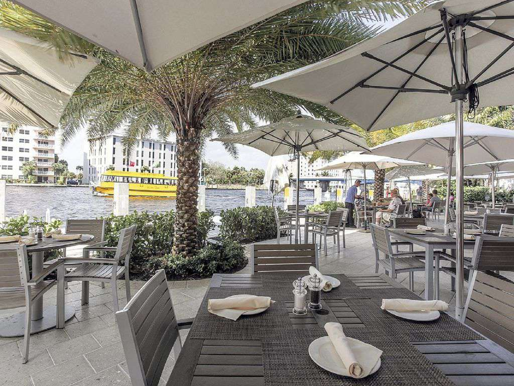 Walk to Shooters and enjoy a great meal along the Intracoastal Waterway