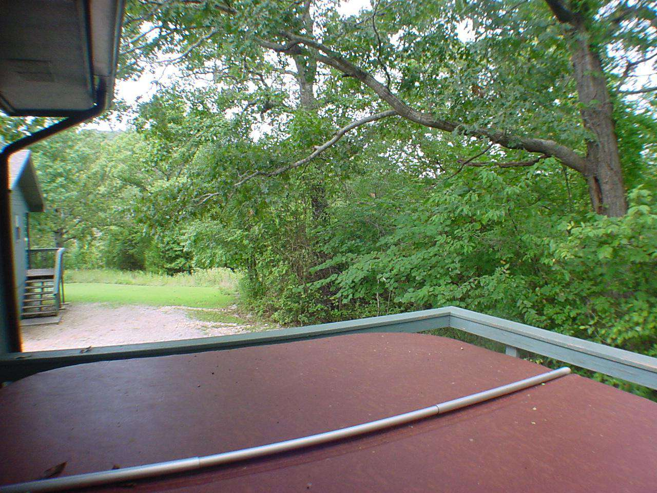 View To Left Of Deck