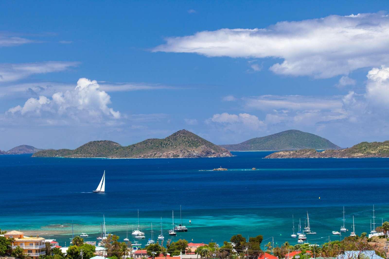 View of Caribbean Sea