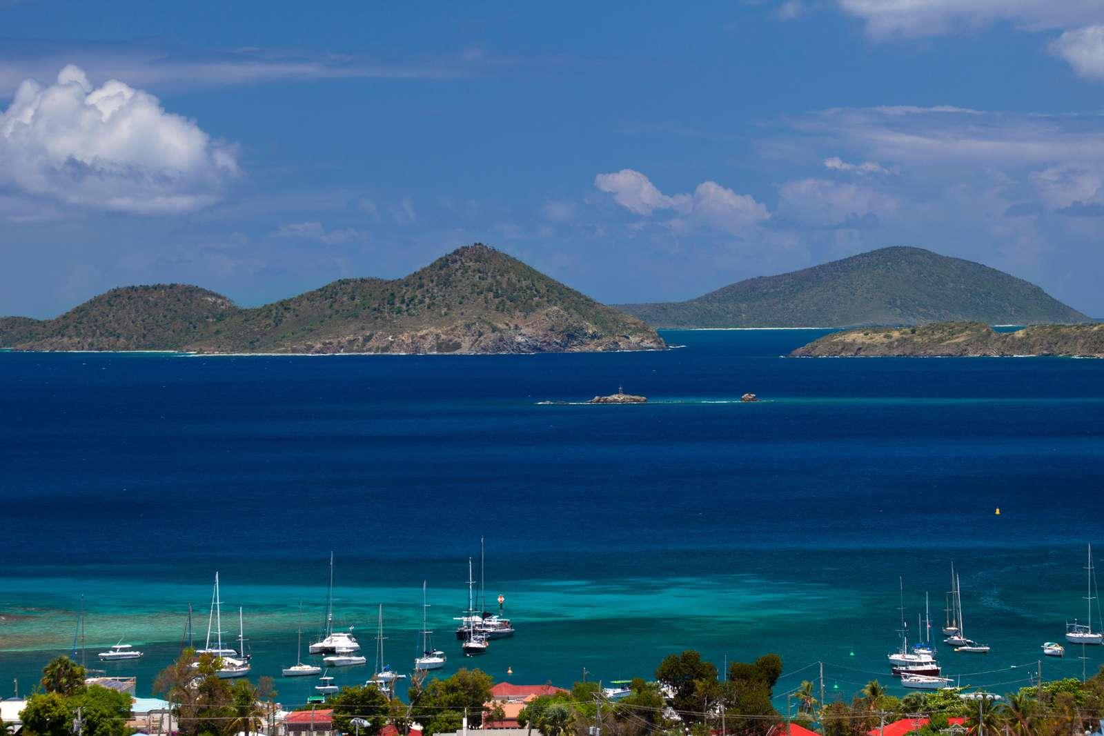Caribbean Sea View from Villa