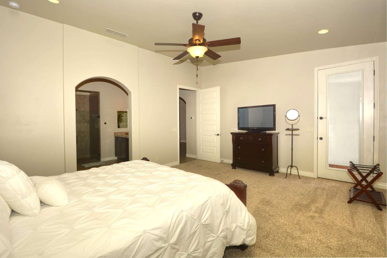 Master Suite with TV