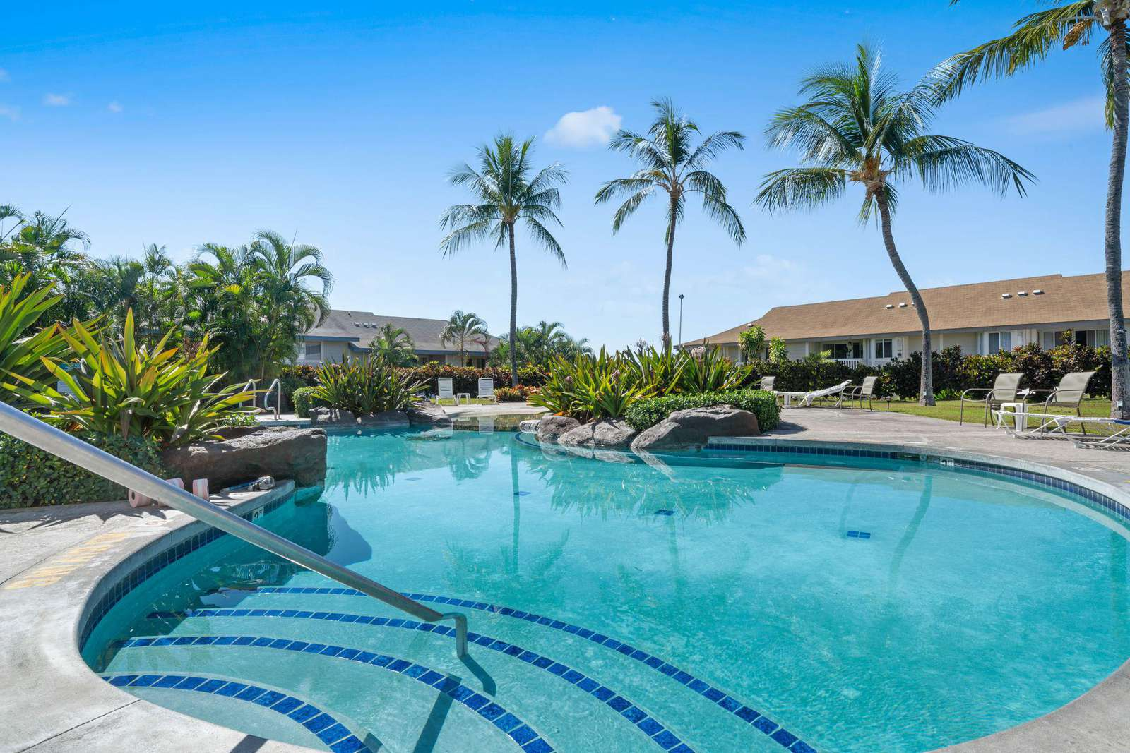 One of 2 swimming pools.